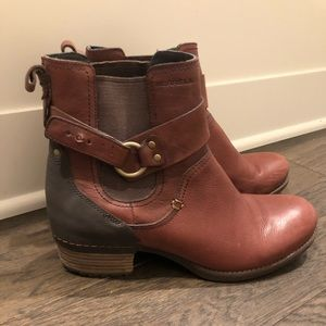 Brown Merrell Ankle Boots